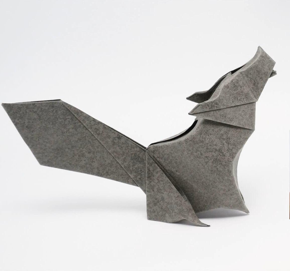 wolf origami 3   Book origami, Origami diagrams, Origami design   1080x1156