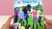 NEUER STYLE im MISS MELODY STICKER Fun Heft mit PFERDE Stickern _ Spiel mit mir Kinderspielzeug-Oesqk__cOsc