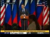 Медведев что самое главное в жизни