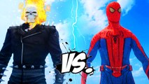 Ghost Rider vs Spiderman - The Amazing Spider-Man vs Ghost Rider