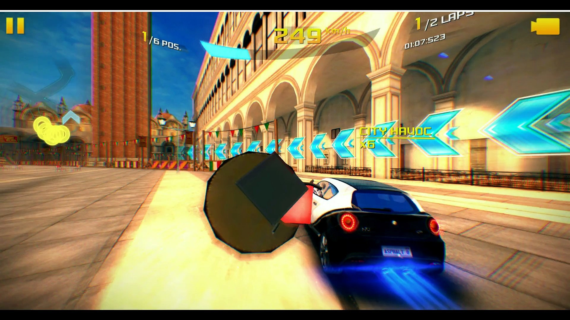 Asphalt 8 Airborne Gameplay Venice Alfa Romeo Mito Gta Season 2 Video Dailymotion