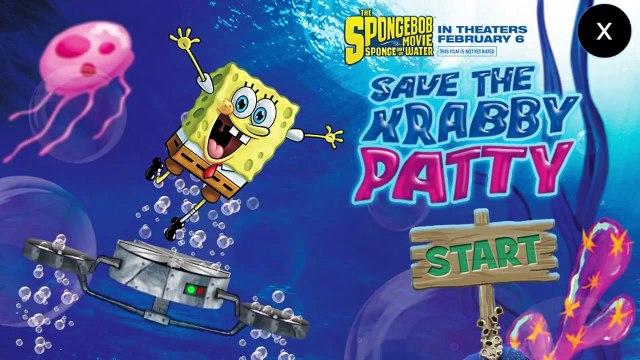 Spongebob Squarepants: Save The Krabby Patty Full - Spongebob Games