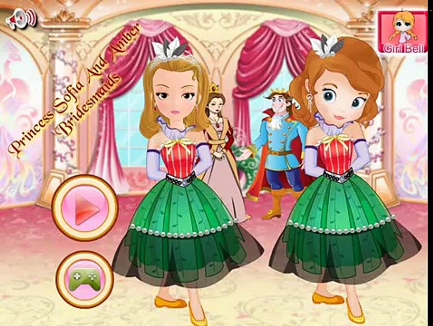 София Прекрасная и Эмбер подружки невесты/Princess Sofia and Amber Bridesmaids
