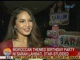 UB: Moroccan themed birthday party ni Sarah Lahbati, star-studded