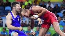 Davor Stefanek wins Serbia's first gold medal in Wrestling Rio Olympics 2016-mMHymXkPgxs