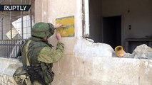 Demining Aleppo - Russian sappers remove mines and IEDs in Syrian school-RpebigNM61o