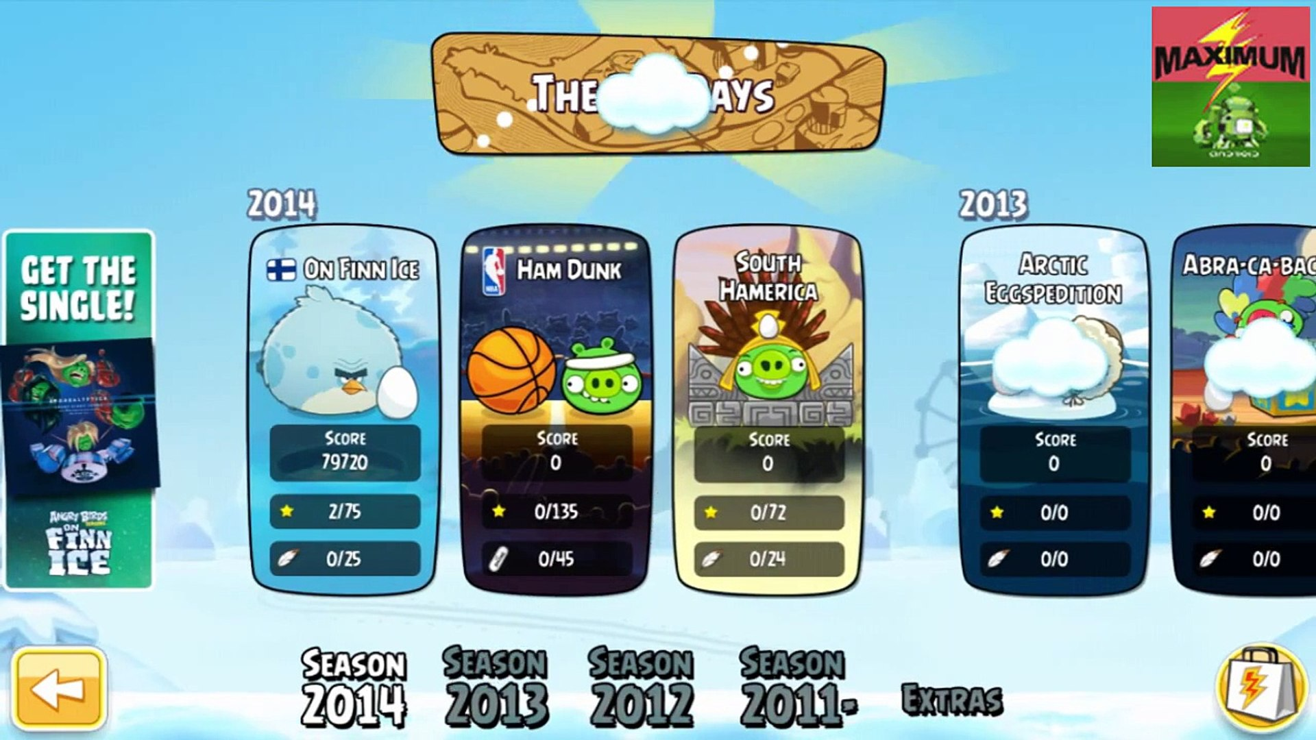 Angry Birds Hammier Things angry birds seasons android [update] gameplay (hd)
