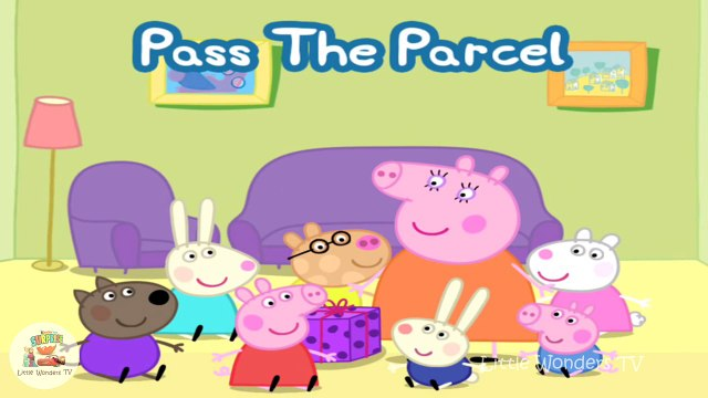 ☀ Peppa Pig Playing Pass The Parcel ☀ Peppa Pig Games ☀ Peppa Pigs Party Time App Demo for kids ☀