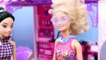 Barbie Mall Elsa Hair Salon Jasmine Spiderman DisneyCarToys Barbie Bad Hair Spider Man