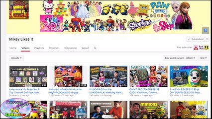 kids activities toy channel collaboration playlist awesome toy channels setc