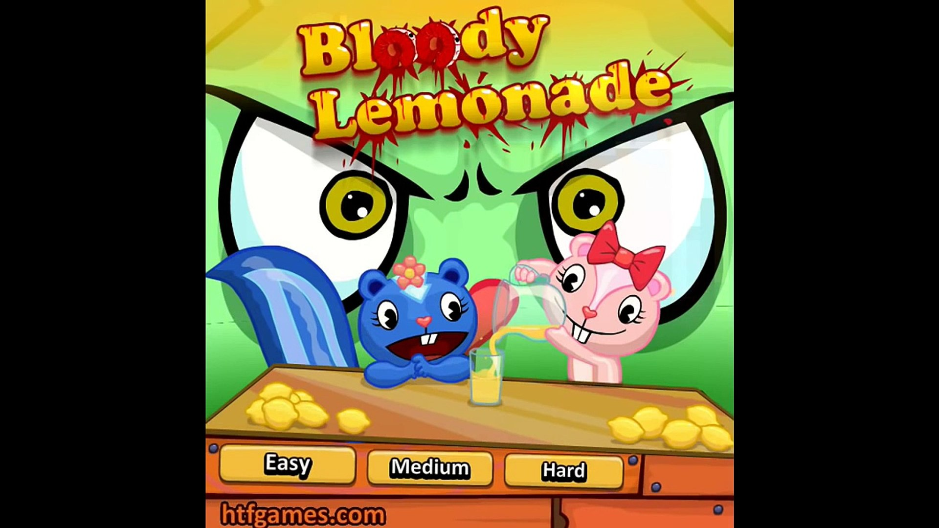 Funny Games Happy Tree Friends Bloody Lemonade Funny Game For