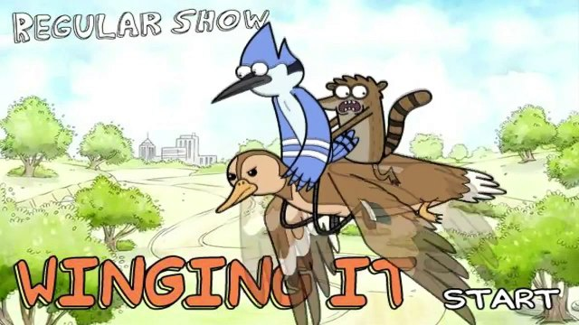 Just Regular Show -Wingins It Just - Regular Show Games