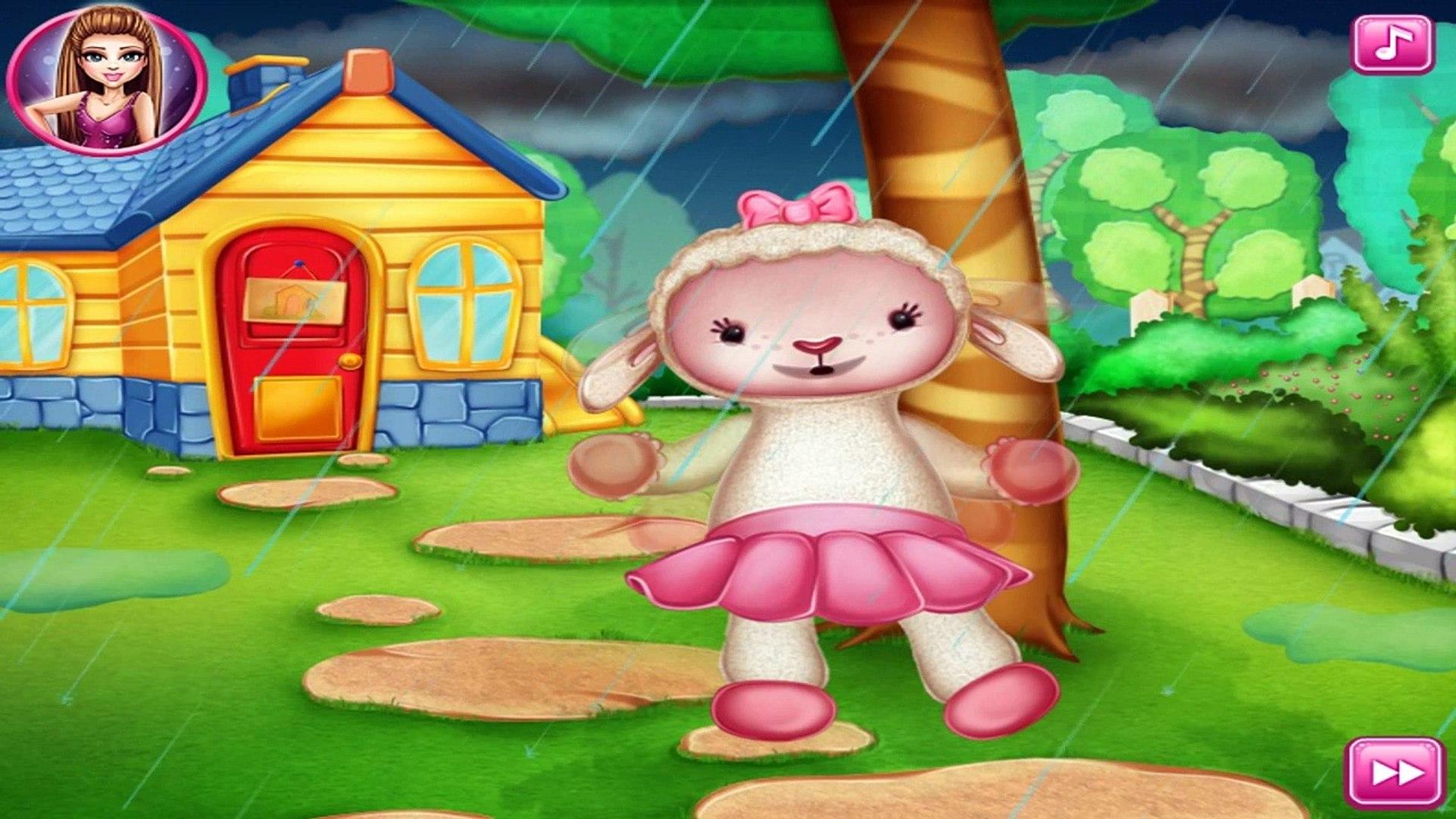 Баранина исцеления мультфильм доктор Плюшева игры доктор для детей