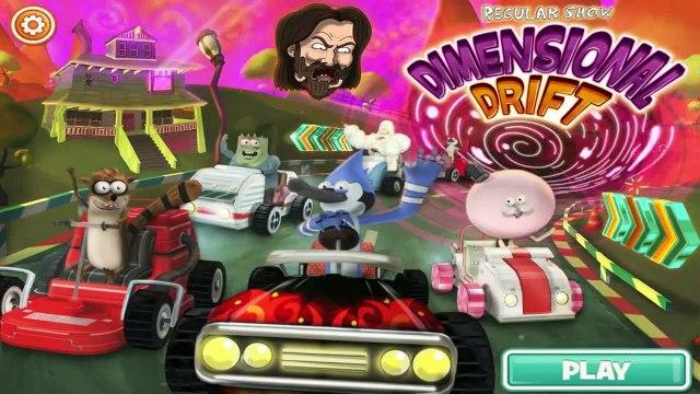 Regular Show - Dimensional Drift [ Full Gameplay ] - Regular Show Games