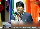 Bolivia: Evo Morales impulsa política exterior de confianza mutua
