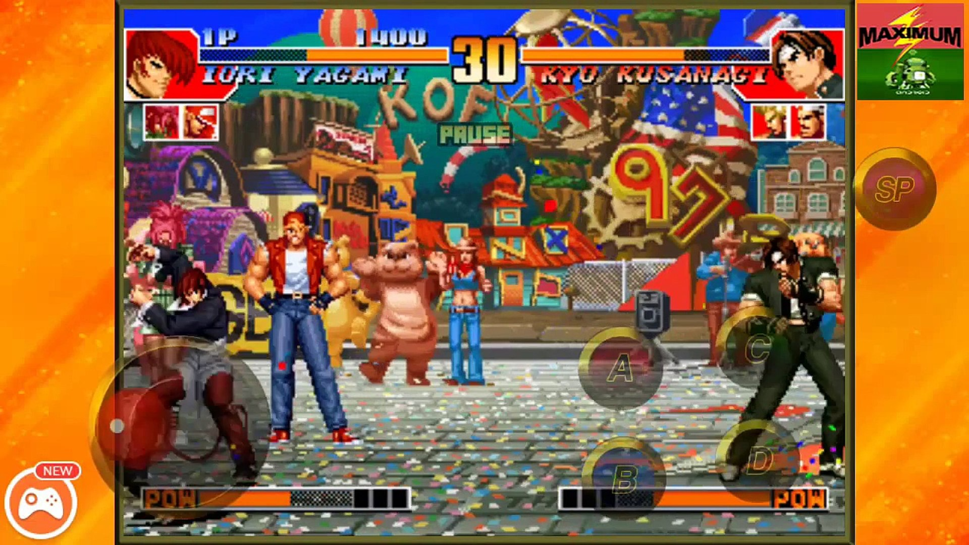 The King Of Fighters 97 Android Ios Gameplay From Snkplaymore