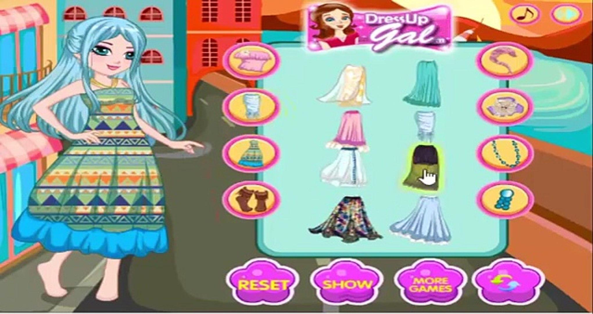 العاب تلبيس بنات ومكياج وقص شعر New Dress Up Games For Girls