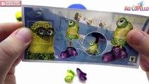 Miniony Spongebob Patrick Ciastolina play doh po polsku Niespodzianka Jaja ciastolina wideo