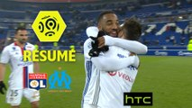 Olympique Lyonnais - Olympique de Marseille (3-1)  - Résumé - (OL-OM) / 2016-17