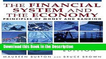 Download [PDF] Financial System of the Economy: Principles of Money and Banking Online Book
