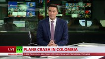 Plane carrying Brazilian football team Chapecoense crashes in Colombia-gmCpq3yEjO8