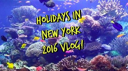 Holidays in New York Vlog! | MissYarmosh