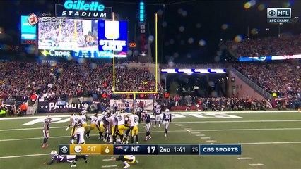Confira os melhores momentos de Pittsburgh Steelers @ New England Patriots