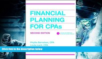 Read Book Financial Planning for CPAs (CPA Practice Guide Series) Phyllis Bernstein  For Online