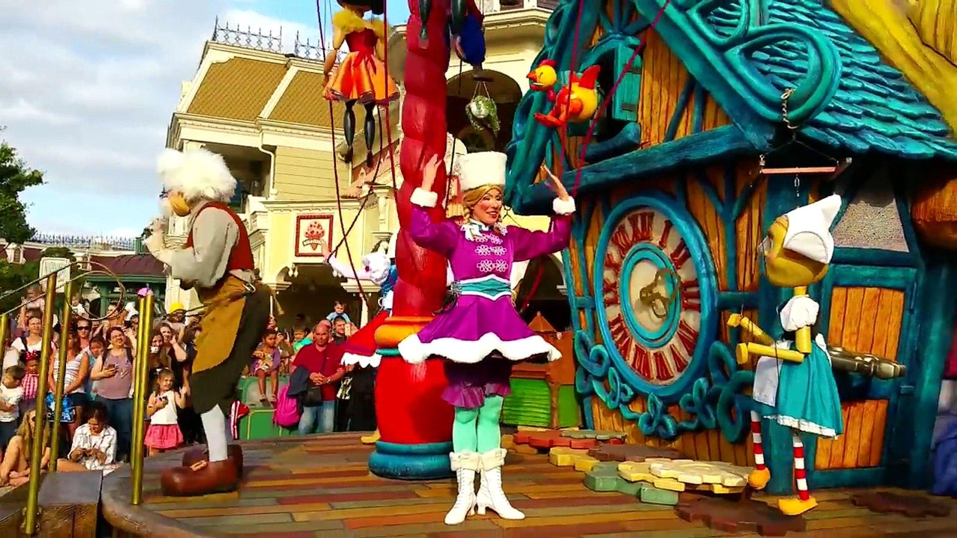 МИННИ МАУС и ДИСНЕЙЛЕНД ПАРИЖ #5 ПАРАД Мультики Дисней Видео МИННИ МАУС Paris Disneyland Park KIDS