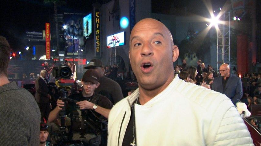 'xXx: The Return of Xander Cage' LA Premiere: Vin Diesel