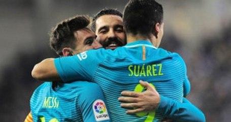 Barcelona, Eibar'ı 4-0 Yendi