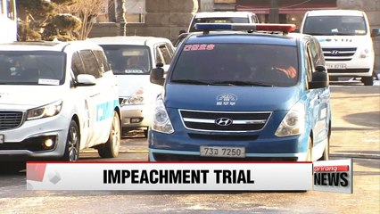 Constitutional Court holds eighth hearing in impeachment trial