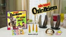 Nie Badź Osiołkiem Gra Karciano-Zręcznościowa Cobi Reklama TV 2016