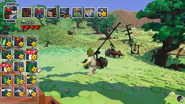 Lego Worlds Part 1 –  Ostriches and BAZOOKAS!!!  (Lego Open World Sandbox Gameplay)