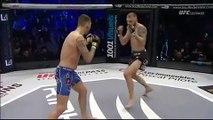TKO37: un arbitre évite le pire à Jonathan Vallée dans un combat trop tendu