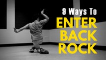 Bboy Tutorial | 9 Back Rock Entries