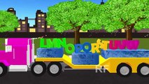Alphabet Songs | 3D Truck ABC Songs for Children | Truck 3D ABCD New HD Rhyme Songs