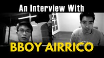 Bboy Interviews - Bboy Airrico - Zou Rock Crew - BreakDance Decoded
