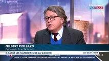 """Gilbert Collard flingue Benoît Hamon """"de gauche fumette"""""""