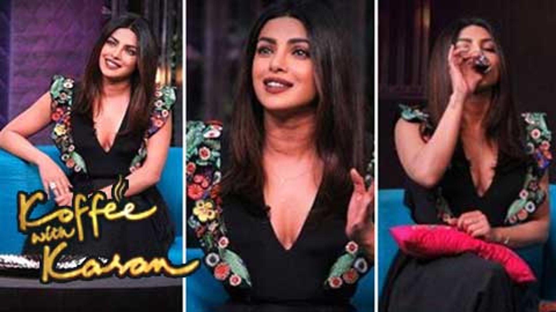 Priyanka Chopra On Koffee With Karan Season 5 Episode 12 BEST MOMENTS
