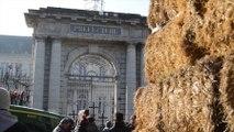 Les agriculteurs du Lot-et-Garonne manifestent au centre d'Agen