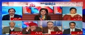 Hassan Nisar ne Ayesha Baksh ke PTI ke khilaf Sawal ka Jawab bhi daina pasand nahi kia