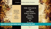 [PDF]  The Finance of Higher Education: Theory, Research, Policy, and Practice (Higher Education