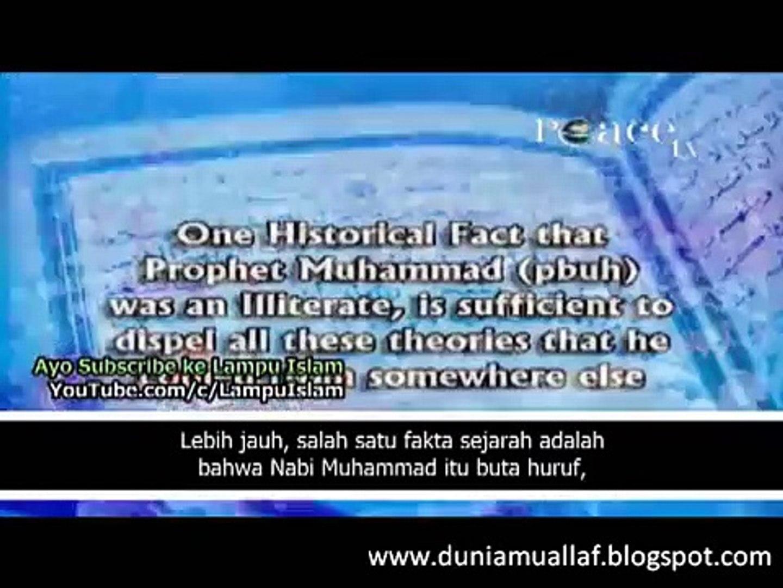 [5] APAKAH AL QUR'AN KARANGAN MUHAMMAD ? DR. ZAKIR MENJAWAB BERBAGAI FITNAH TENTANG NABI MUHAMM