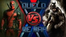 RAP DO DEADPOOL (X-men) VS. BATMAN (Liga da Justiça)   DUELO DE RAP (Ft. Ezpectro)