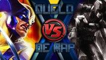 RAP DO WOLVERINE (X-men) VS. BATMAN (Liga da Justiça)   DUELO DE RAP (Ft. Ezpectro)