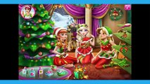 Disney Princess Christmas Party Game | Frozen Elsa Anna & Tangled Rapunzel Baby games