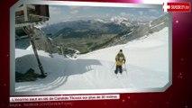 L'énorme saut en ski de Candide Thovex sur plus de 30 mètres