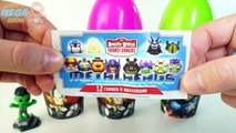Cups and Balls Surprise Eggs MARVEL Superheroes Toys Spiderman Hulk Ironman Angry Birds