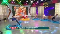 Alejandra Baigorria cuadró a Santi Lesmes en vivo